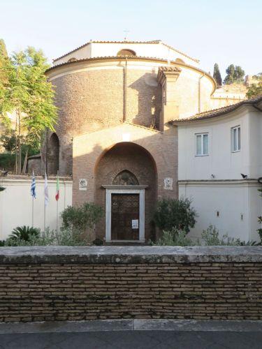 Entrance of San Teodoro di Roman