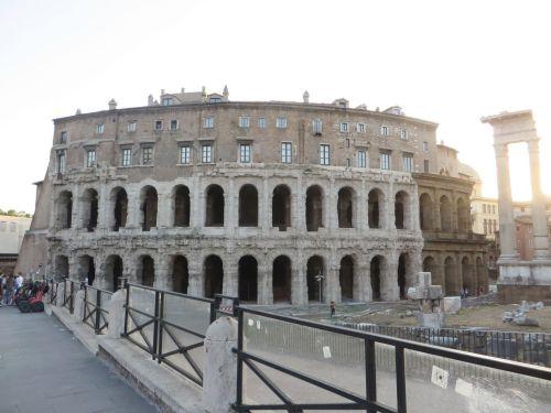 The Teatro di Marcello, Rome
