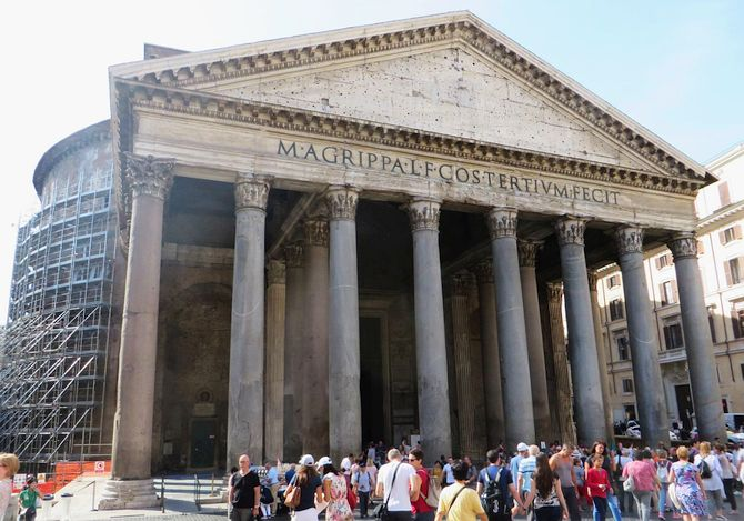 Exterior of Santa Maria ad Martyres, Rome