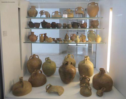 8th-century ceramics in the Museo Nazionale Romano Crypta Balbi, Rome