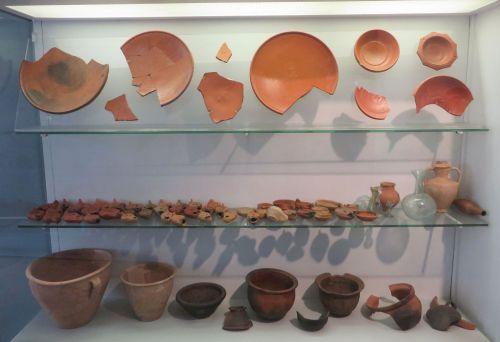 Late Roman ceramics in the Museo Nazionale Romano Crypta Balbi, Rome