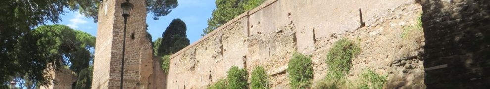 Section of the Aurelian Wall, Rome