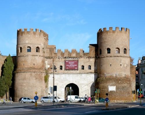 The Castelleto or Porta San Paolo, Rome