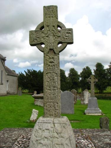 West face of the Castledermot South Cross