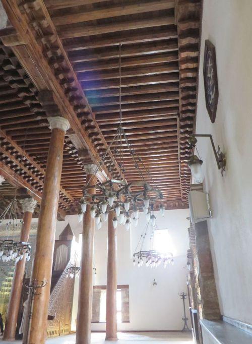 Interior view down one side of the Arslanhane Camisi, Ankara