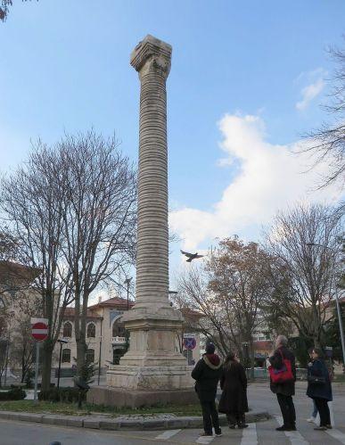 The so-called Column of Julian at Ankara